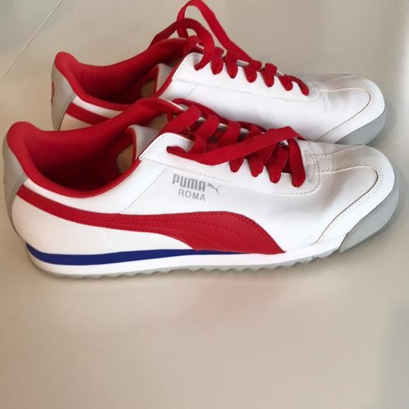 Puma Shoes   Puma Roma Sneakers Red